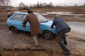 """Unterwegs in der """"Zone"""" von Tschernobyl, Ukraine, 2006"""