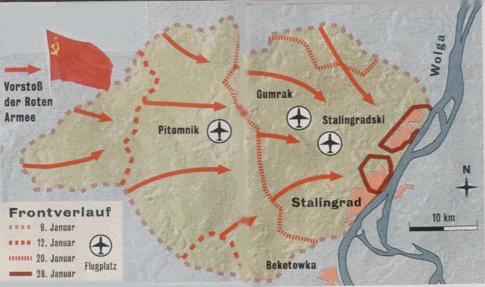 Stalingrad Karte Europa.Hintergrund Die Schlacht Von Stalingrad 1942 43 Gerald Praschl