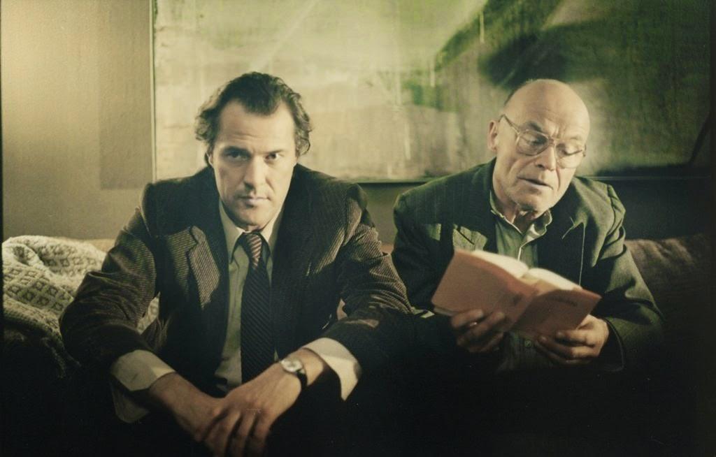 """Volkmar Kleinert (rechts) mit Sebastian Koch in """"Das Leben der Anderen"""" 2006"""