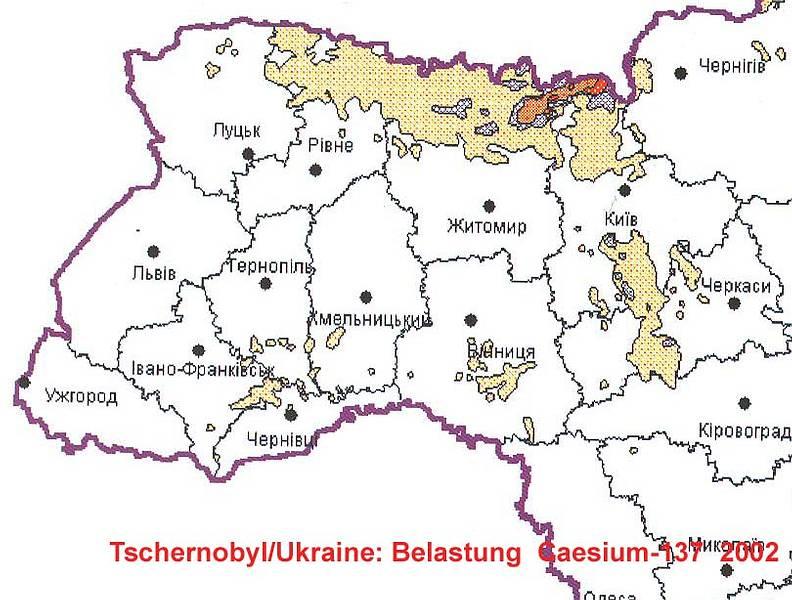 Tschernobyl Karte Belastung Deutschland.Unterwegs In Der Zone Von Tschernobyl Gerald Praschl