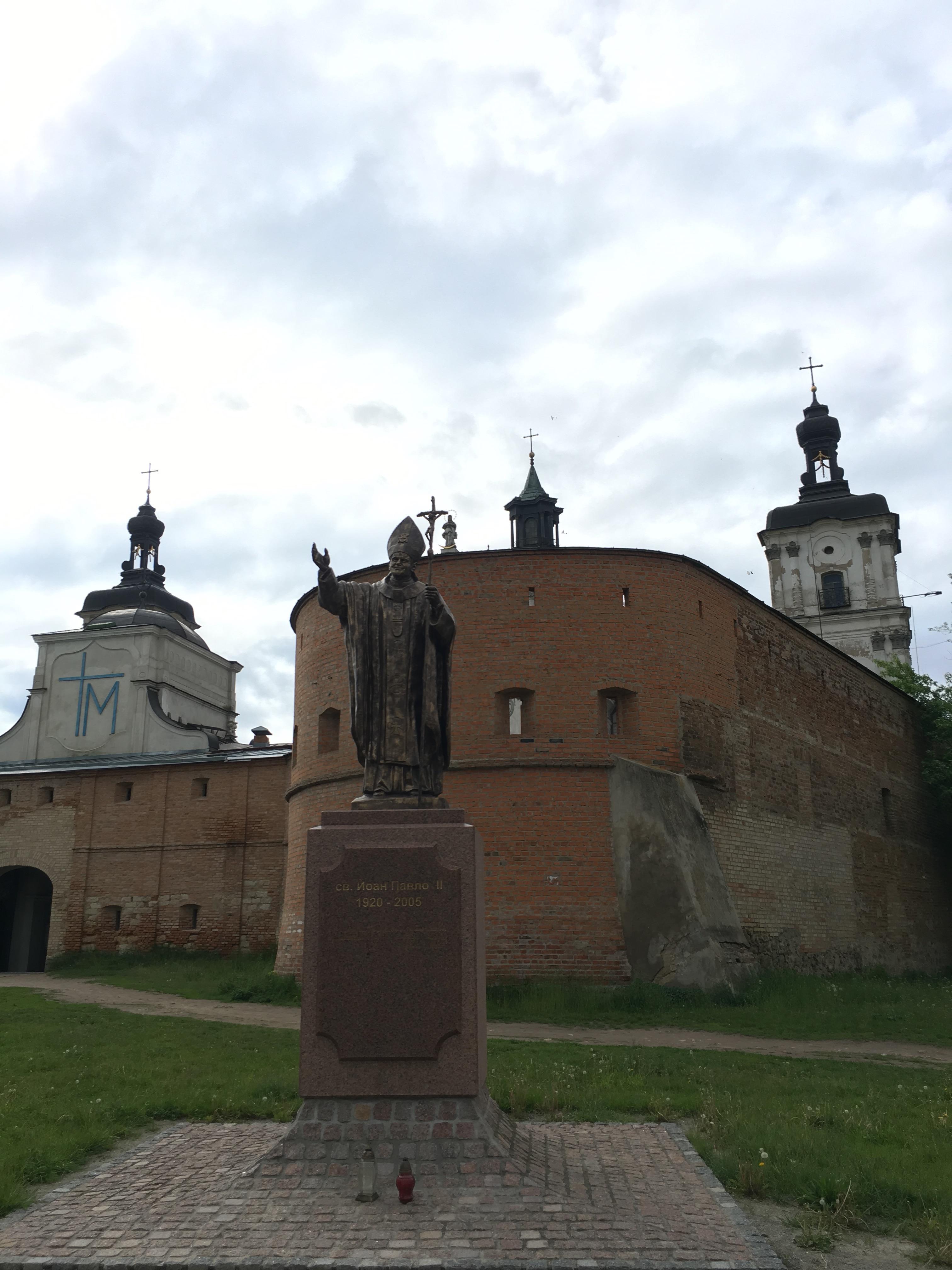 Das römisch-katholische Karmeliterkloster von Berdytschiw