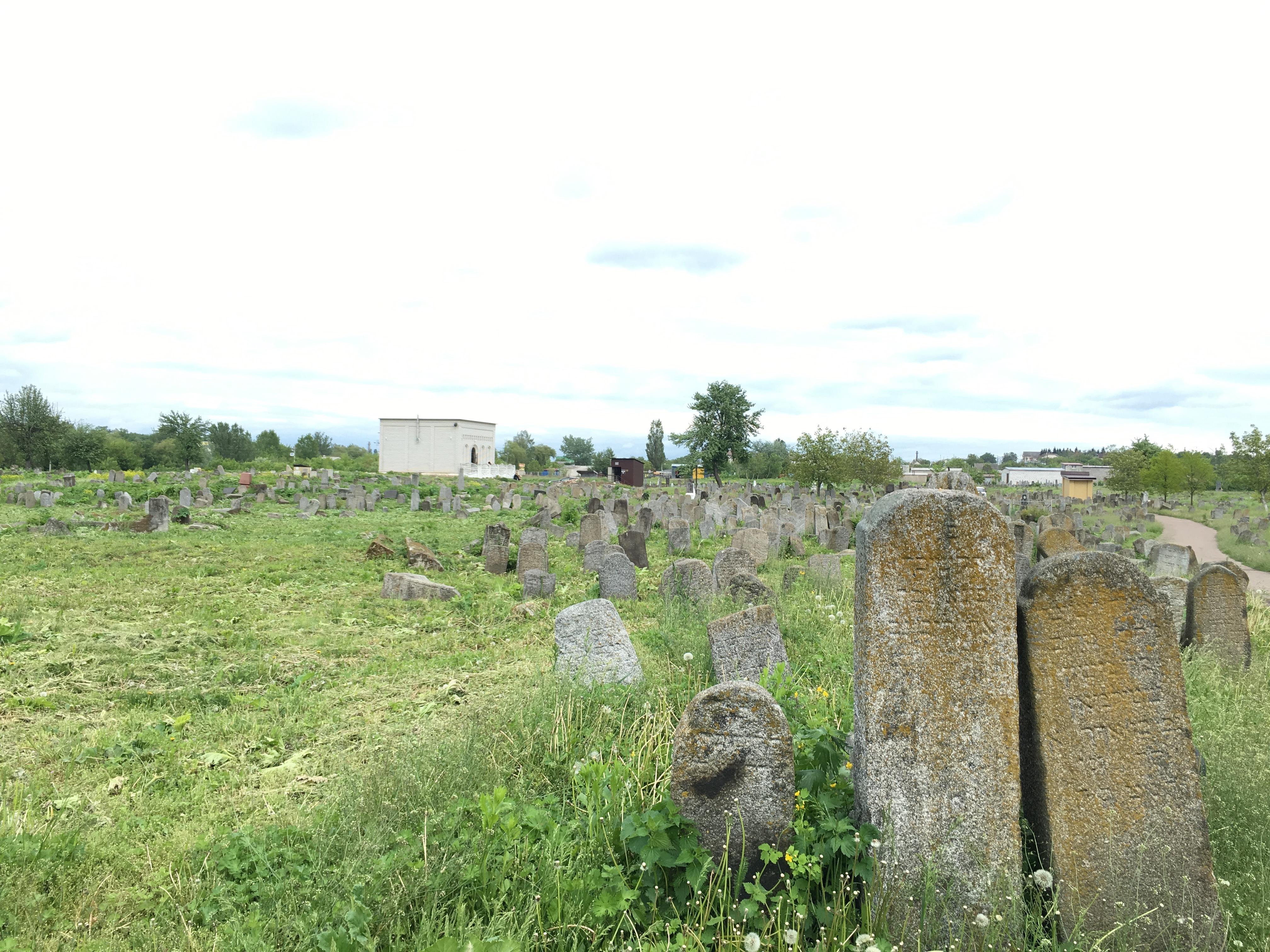 Der alte jüdische Friedhof von Berdytschiw