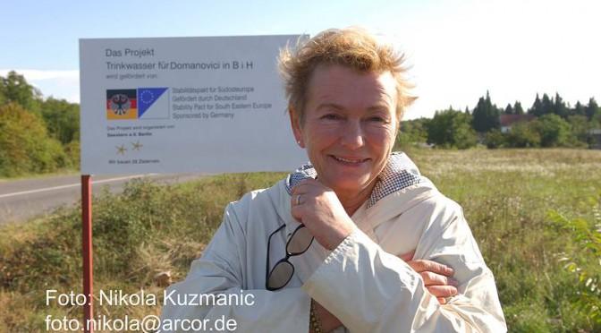 Bärbel Bohley: Ihr Hilfsprojekt in Bosnien
