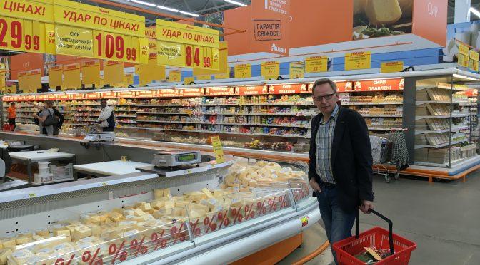 Von der Blumen-Oma bis zum Mega-Markt: Einkaufen in Kiew