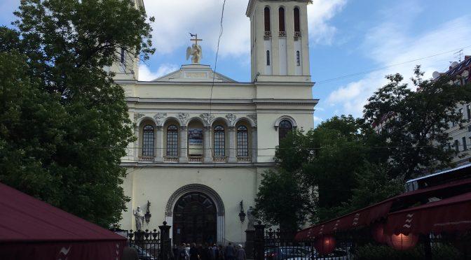 Die Kirche der Deutschen von Sankt Petersburg