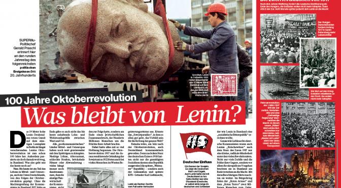 100 Jahre Oktoberrevolution: Was bleibt von Lenin?