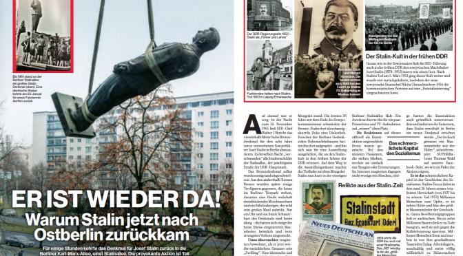 Warum Stalin jetzt nach Berlin zurückkam
