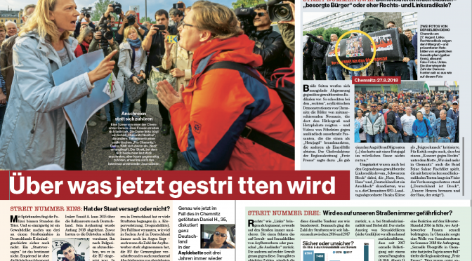Fakten zu Chemnitz – über was wir jetzt streiten