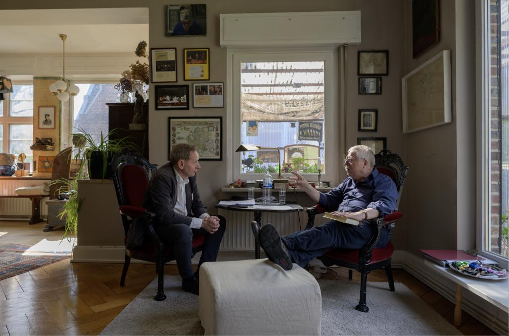 Gerald Praschl im Gespräch mit Wolf Biermann April 2019